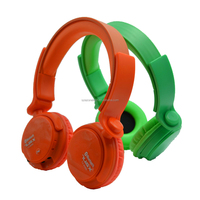oem best bluetooh headphones professional cheap gaming overhead headphone with TF card slot integrated mp3 player