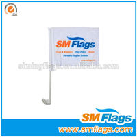 Good product polyester car flag mirror sock