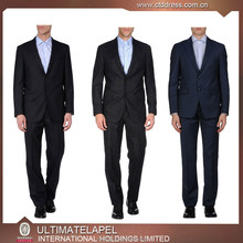 Made to measure suit for men Super 140's 100% wool Notch Lapel blue slim fit half-canvas suit