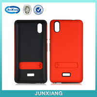 Rubber Hybrid Hard Cell Phone Case for BLU D890U