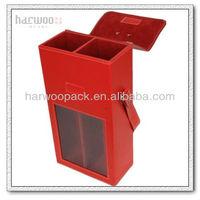 New PU Leather Wine Storage 2 Bottles Wine Case