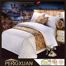 Chinese factories european stripe bedding sets promotion