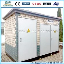 12/0.4 Outdoor Prefabricated Substation,compact transformer substation