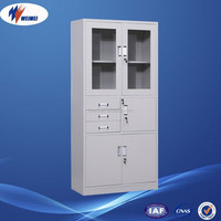 Fine-sized top quality steel file cabinets used in offices schools libraries