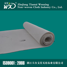 300 350 400 450 500 550gsm water and oil repellent antistaic PTFE membrane non-owven needle industry dust collector filter cloth