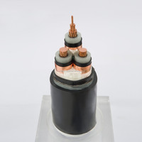Cu XLPE insulated copper tape screen STA armored PVC sheath power cable