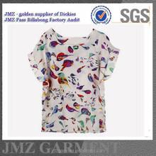 fashion style sublimation print girls tshirts oem women tshirts