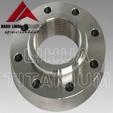 Standard Gr5 Titanium forged flange ASTM B381