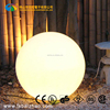 Rechargeable waterproof outdoor large plastic illuminated led light ball
