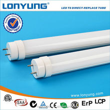 Epsitar multi color rohs indoor t8 led tube 3 years warranty with ETL TUV SAA CE ROHS DLC LCP approval