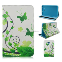 Green Butterfly Flip Folio Stand TPU+PU Leather Tablet Case For Samsung Galaxy Tab 3 Lite 7inch T110/T111 From Alibaba China