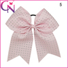 Beautiful Light Pink Polyester Ribbon Bows With Clips CNEB-14111201-C