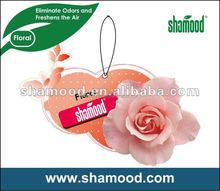 Shamood manufatuer Paper Air Freshener
