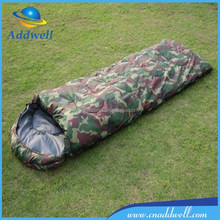 Outdoor thickened cotton camping camouflage military sleeping bag