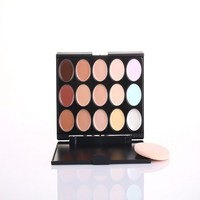 Muti-color best quality professional waterproof makeup concealer eyebrow concealer
