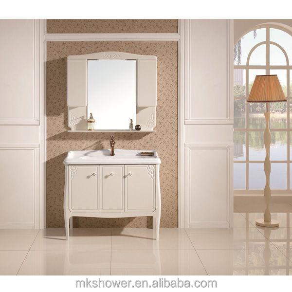 hangzhou hot sale design pvc bathroom cabinet mk 8963 buy new