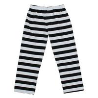 Wholesale hot sale fashion cotton boy black white striped pants&red white striped pants boy clothes kids fall striped pants