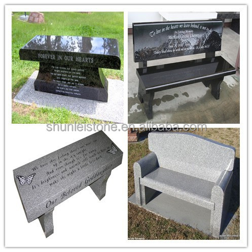 granite benches for cemetery