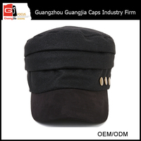 2015 New Fashion Style 100% cotton military bush hats army cadet cap and hat