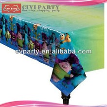 cheap wedding decoration chair and table covers plastic round table covers