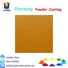 heat resistant yellow wrinkle texture epoxy powder spray paint