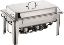 full size rectangular chafing dish set with GN 1/1 food pan 8.5L