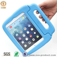 2015 Hot selling safe Eva Drop proof kids shockproof case for iPad mini 1 2