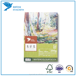 10sheets/20sheets Watercolor Pad wet&wet technical