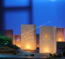 Cute paper tea light candle holders