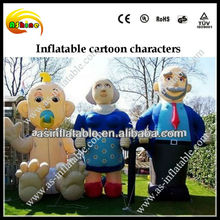2014 custom made good quality inflatable lady model