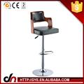 Multi-color bar duráveis design cadeira couro genuíno bancos de bar venda quente pu bancos de bar