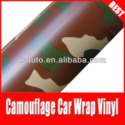 RoHS certificate 1.52*30m air Free bubbles camouflage car adhesive glue