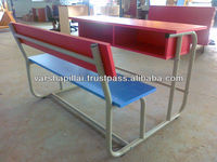 Double Student Desk and Chair,School Furniture Student Desk and Chair