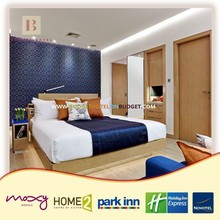 Pina Modern 3 Star Trendy Hotel Guest Room Furniture Whole Set