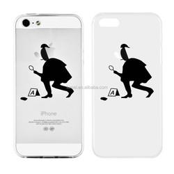 Fashion Cute Cartoon Design Hard Phone Case For Apple Iphone 5s