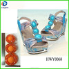 cheap fashion handmade jewelry for sandal in 2014