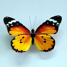 2015 Wholesale Crafts Decoration Handmade Clip Butterfly