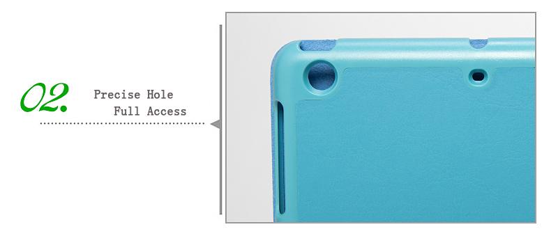 Ultra Slim Foldable Smart Leather Case Cover For iPad mini 1 2 Retina ,High Quality