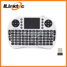 Hottest 2.4G Mini Wireless Keyboard with Touchpad for Smart TV Samsung TV Keyboard