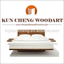 Muebles para el hogar/madera maciza cama doble de madera/king size cama redonda