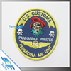 3d custom embroidered patches embroidery badge custom on transfer