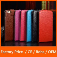 New Arrival Colorful Ultra-Thin Retro Flip Hard leather Case For IPhone 6 4.7''