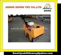 double vibratory roller,Factory direct supply OKR-S600 Used mini road roller sale for wholesales