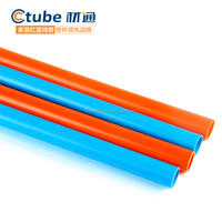 Fire fighting custom pvc electrical conduit,pvc cable sleeve,pvc pipe manufacture