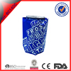 Binghang new cheap custom free size & color reusable pvc wine gel insulated bottle cooler