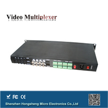 Single mode single fiber 8 channel analog audio over fiber with high performance