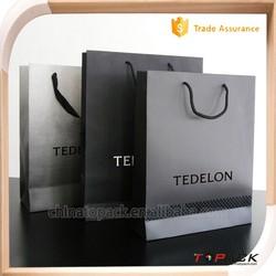 Free sample - Custom glossy art paper bag, gift paper bag