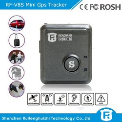 global smallest gps tracking device RF-V8S for personal kids pet, micro gps tracking chip and long distance device