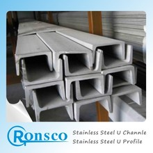 ASTM A276 201 stainless steel channel bar pickling surface for construction