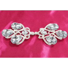 Top grade hot selling rhinestone brooch with pin for wedding